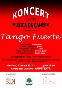 Koncert z cyklu MUSICA DA CAMERA - Tango Fuerte