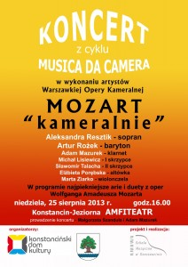 MDC - 25 sierpnia 2013 plakat STRONA