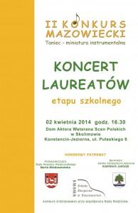 ETAP SZKOLNY plakat 1 STRONA 2014