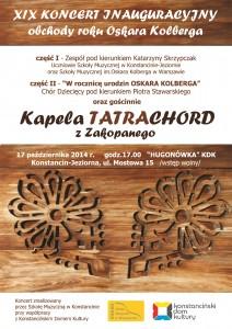 TATRACHORD - plakat INAU 2014 www