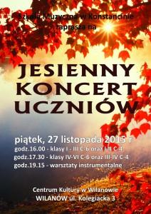 plakat JESIENNY  2015