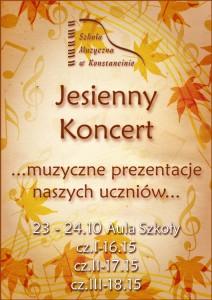 KoncertJesienny-plakat